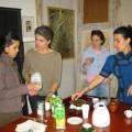 La visite de l'atelier de Claure Illouz