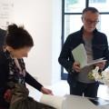 Exposition de Pascale Hémery : Le vernissage