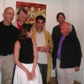 Exposition d'Anto: le vernissage
